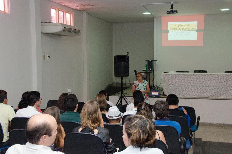 Professores compartilham experiências   Crédito: Eduardo Mendonça
