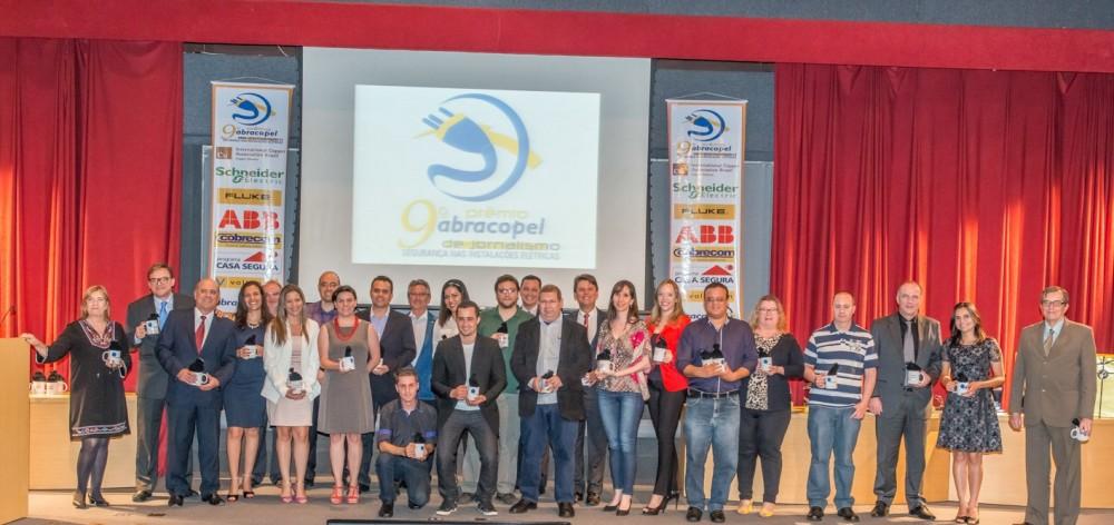 Finalista das 11 categorias da 9ª edição do Prêmio Abracopel
