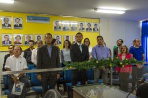 Equipe da Ufersa prestigia sessão solene em homenagem a Ufersa/Foto: Eduardo Mendonça