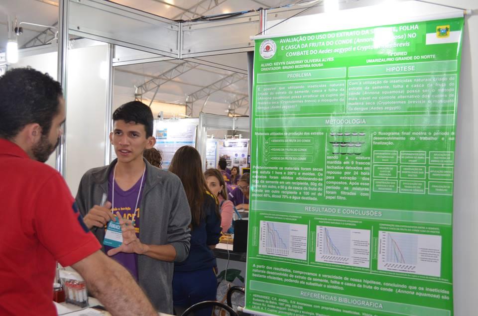 Kevyn Danuway, aluno de Umarizal que recebeu a credencial para a Feira Internacional de Ciências e Engenharia - INTEL ISEF / Foto cedida