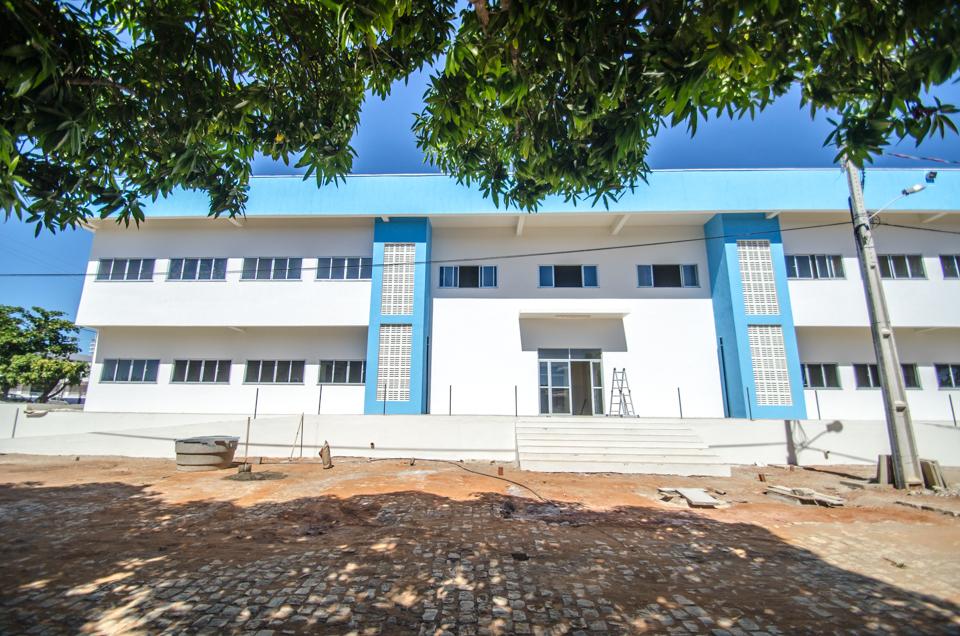 Prédio onde funcionará o curso de Medicina nos anos iniciais |Foto: Eduardo Mendonça/Assecom/Ufersa