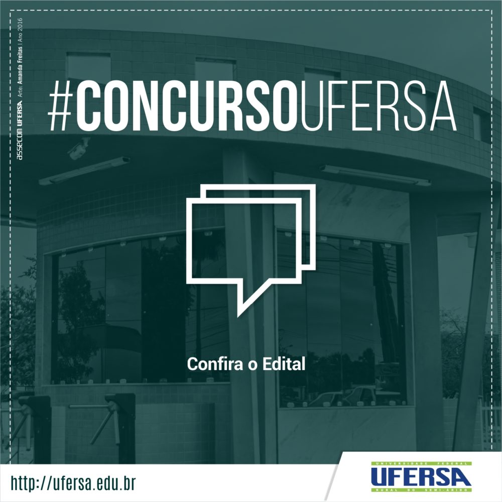 Resultado de imagem para UFERSA CONCURSO PARA PROFESSOR