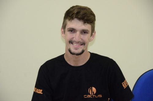 Capitão da equipe, Tiago Melo / Foto Assecom