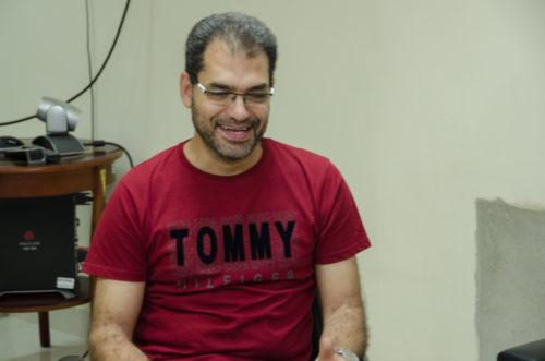 Ahmed Salama é professor da Faculdade de Medicina Veterinária da Universidade Autônoma de Barcelona / Foto Assecom Ufersa