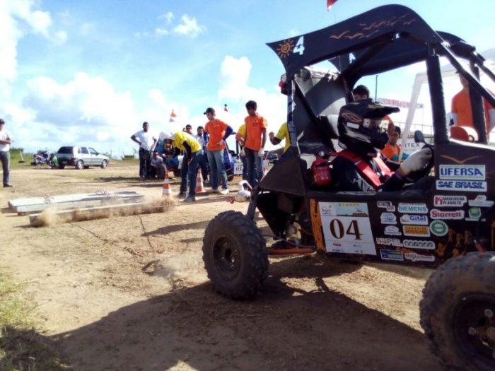 Carro Baja da Ufersa durante a competição em Camaçari na Bahia / Foto Diego Gomes